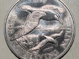 1997 Falklands Islands pinigas 50 pence,#3708w