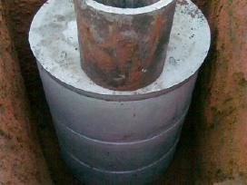 Kanalizacijos-šulinio žiedai