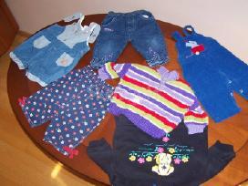 Dukrytės dėvėti drabužėliai nuo 0 iki 12mėn - nuotraukos Nr. 3