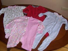 Dukrytės dėvėti drabužėliai nuo 0 iki 12mėn - nuotraukos Nr. 4
