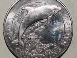 1998 Falkland Islands pinigas 50pence,#3717w
