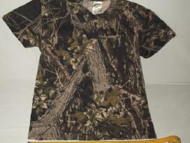 Amerikietiški medžioklinio kamufliažo marškinėliai