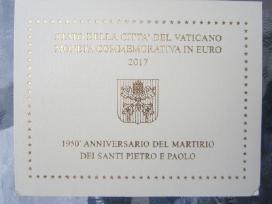 Vatikano 2 eurai 2017 m - nuotraukos Nr. 2