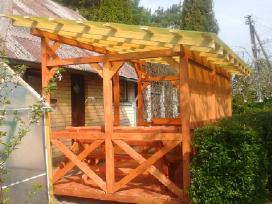 Lauko medienos gaminiai,pavesynes,terasos