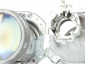 Xenon, Bi-xenin halogeninės, Led linzės auto, moto