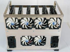 Kripto mining rig 6-10 Gpu (turime vietoje!)