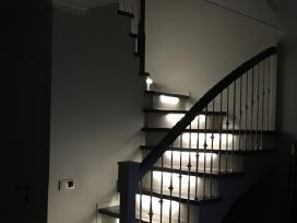 Laiptai, turėklai, balkonėliai, stogeliai, . - nuotraukos Nr. 2