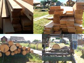 Mobiliu gateriu pjauname medieną
