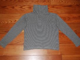 Marškinėliai aukštu kaklu (golfas) 122 cm dydžio
