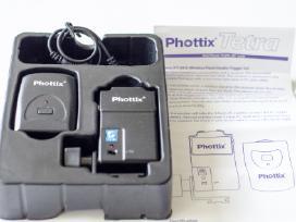 Phottix Tetra nuotolinį blykstės valdymą.