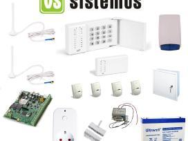Šiolaikinė Gsm apsaugos+valdymo sistema namui