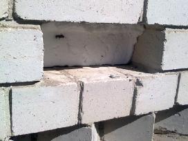 Sienų oro tarpo šiltinimas termoputomis