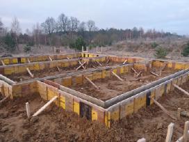 Įvairaus sudėtingumo Cfa polių betonavimas. - nuotraukos Nr. 9