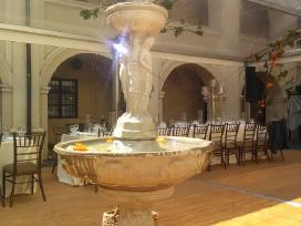 Išskirtinės betono skulptūros, fontanai Jums!