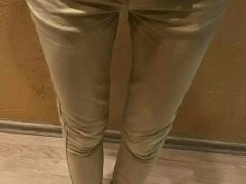 Smėlio spalvos kelnės