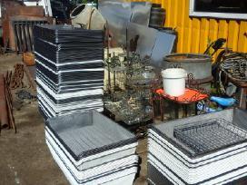 Vamzdziai Tvorai,aliuminioskarda,kampuotis,strypai
