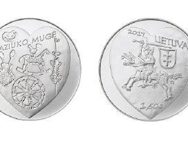 1,5 eurų monetos, skirtos Kaziuko mugei