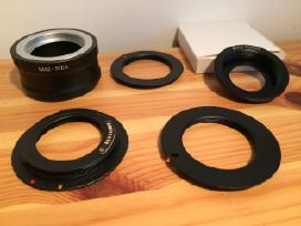 M42 adapteriai Canon, Nikon, Sony, Pentax