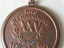 Retas Ltsr Laikotarpio Medalis Darbininkui. Zr.