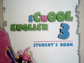 School English 3. Students book 10 vnt. Nauji!