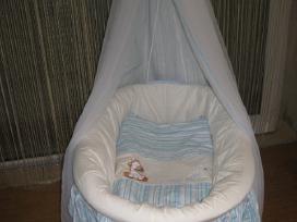 Pintas lopšys-vežimas kūdikiui