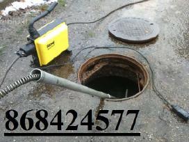 Kanalizacijos vamzdynų valymas - kanalizacijos atk