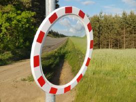 Sferiniai kelio veidrodžiai