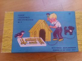 Vaikiškas sovietinis staliaus rinkinis