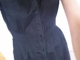 Juoda susagstoma H&m suknelė
