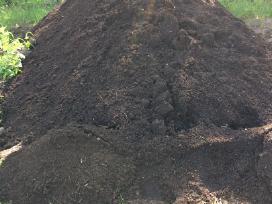 Juodžemis,žvyras, smėlis,betono skalda,kompostas