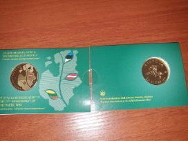 2014 m. 25 litų moneta, Baltijos keliui 25 metai