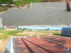 Grindu betonavimas ir sildomos grindys