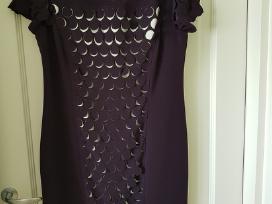 Suknelė (baklažano spalvos)