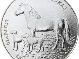 Moneta, skirta lietuvių skalikui ir žemaitukui - nuotraukos Nr. 2
