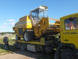 Tralas Platforma, Krovinių - Traktorių vežimas 17t - nuotraukos Nr. 6