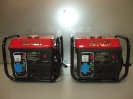 Benzininiai Elektros Generatoriai New Boxer+dovana