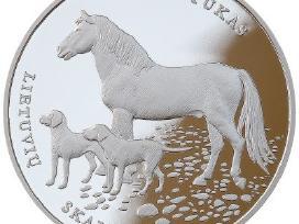 Moneta, skirta lietuvių skalikui ir žemaitukui
