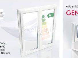 Plastikiniai langai rehau geneo profiliai vilniuje