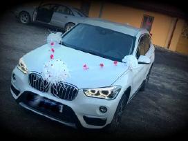 Papuosimai vestuviu automobiliams, kaspinai