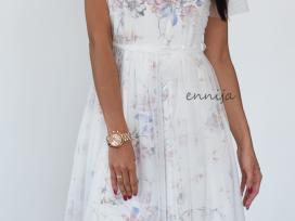 Proginė elegantiška ir romantiška suknelė 34-36d.