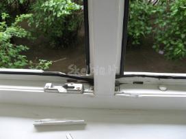 Pvc langų apsauga nuo įsilauzimo, vagių, defas