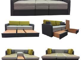 Sofos lovos, minkšti kampai, foteliai, tachtos - nuotraukos Nr. 2