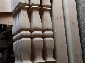 Ornamentuotos kolonos,tvorelės