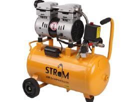 Betepalinis tylus oro kompresorius Strom 24l