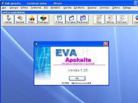 Apskaitos programa eva-prekybai, gamybai, servisui