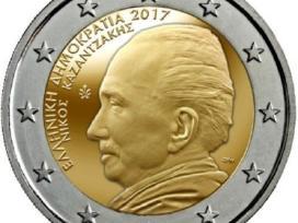 Graikija 2 euro 2017 Nikos Kazantzakis Unc