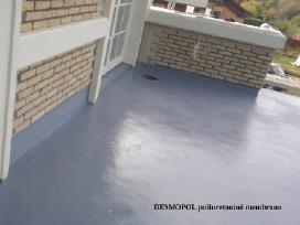 Balkonų / terasų hidroizoliacija