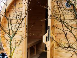 Apvali Lauko pirtis sauna - kubilas bačka L-4,8m - nuotraukos Nr. 4