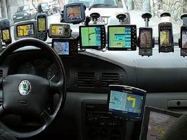 Nauju zemelapiu idegimas, GPS tvarkymas