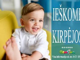 Bambina Vilniuje ieško kirpėjo (-OS)